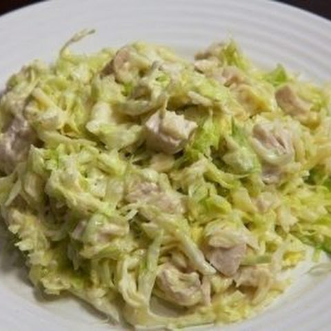 Fresh Cabbage Salad With Chicken
