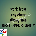 Online part time jobs will provide you a solution for all your financial problems. Govt. rigd company