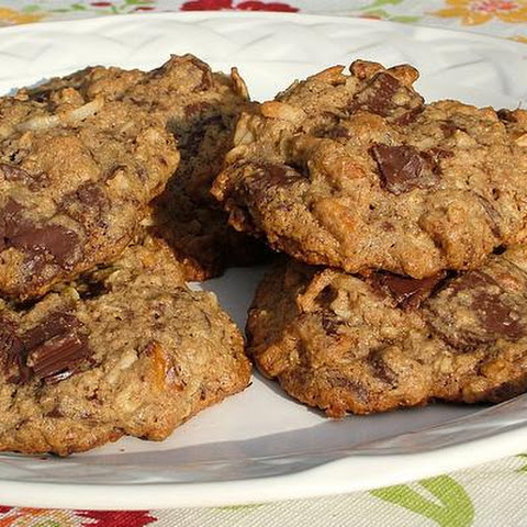 Healthy Chocolate and Nut Chunk Cookies