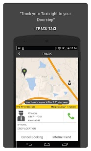 Free TaxiForSure book taxis, cabs APK for Windows 8