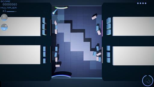 Grey Cubes: 3D Brick Breaker - screenshot