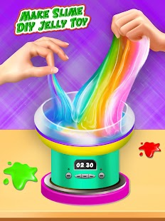 How To Make Slime DIY Jelly Toy Play fun