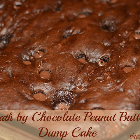 Death by Chocolate Peanut Butter Dump Cake