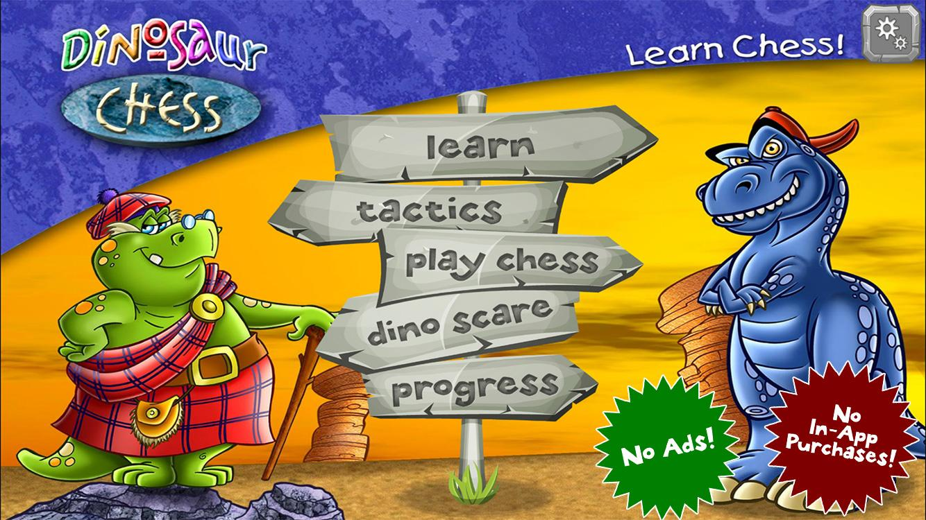 Dinosaur Chess: Learn to Play! Screenshot 0