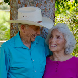 Living Happily Ever After by Kathleen Koehlmoos - People Couples ( gorgeous older couples, well preserved seniors, octagenarians, handsome senior couple, strikingly attractive seniors )