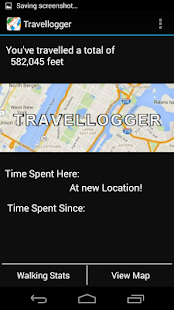Travellogger - screenshot