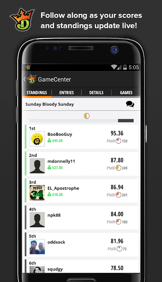DraftKings Screenshot 3