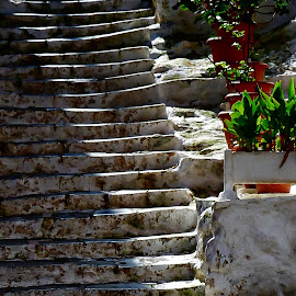 Jacobs Ladder by Costa Philippou - Buildings & Architecture Other Exteriors ( stairs, shadow, shade, light )
