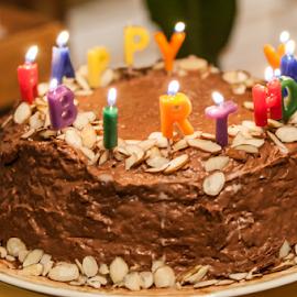 by Myra Brizendine Wilson - Food & Drink Candy & Dessert ( cake, birthday cake, birthday party )