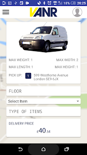 VANR Live Delivery - screenshot