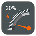 Gauge Battery Widget 2016 for Lollipop - Android 5.0