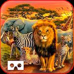 Safari Tours Adventures VR 4D Icon