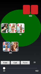 Bikini Girl Texas Holdem Poker - screenshot