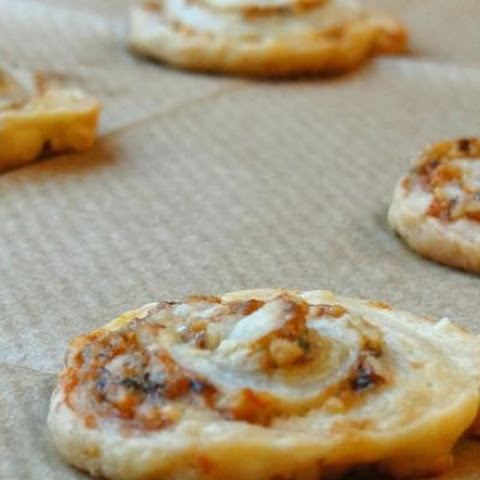 Roquefort And Walnut Pinwheels