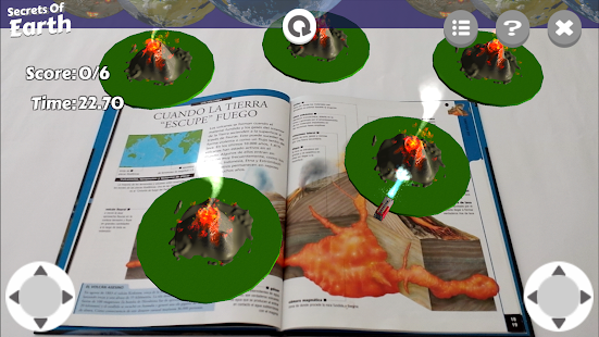SECRETS OF THE EARTH AR - screenshot
