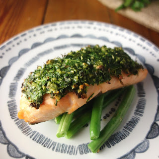 Mustard Herb Crusted Salmon Recipes