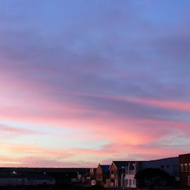 Night Fall by Christo du Plessis - City,  Street & Park  Skylines