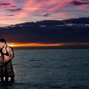 THE SUNSET  by Eight Espino - People Couples