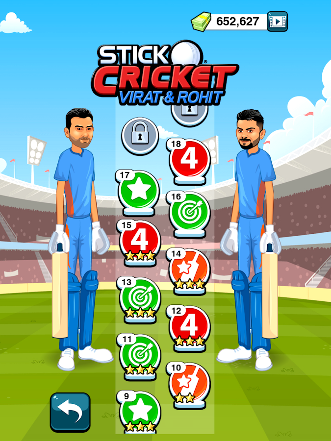 Stick Cricket Virat & Rohit Screenshot 11