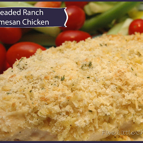 Breaded Ranch Parmesan Chicken