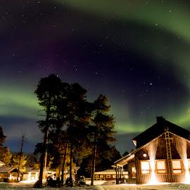 Northern Lights by Jan Coetzee - Landscapes Travel
