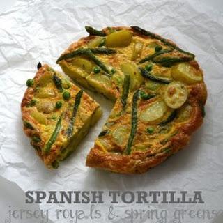 Spanish Omelette Vegetarian Recipes