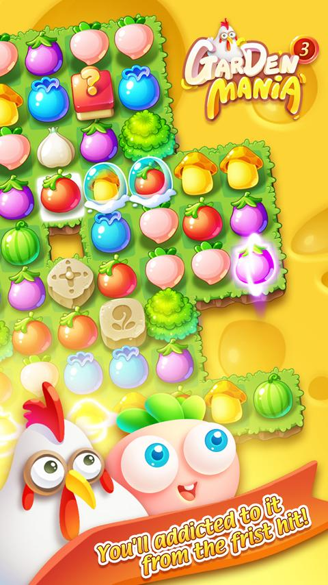 Garden Mania 3 - Thanksgiving Screenshot 0