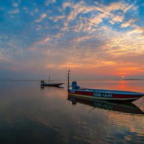 Sunrise Jubakar Kelantan by Nazeri Mamat - Landscapes Sunsets & Sunrises