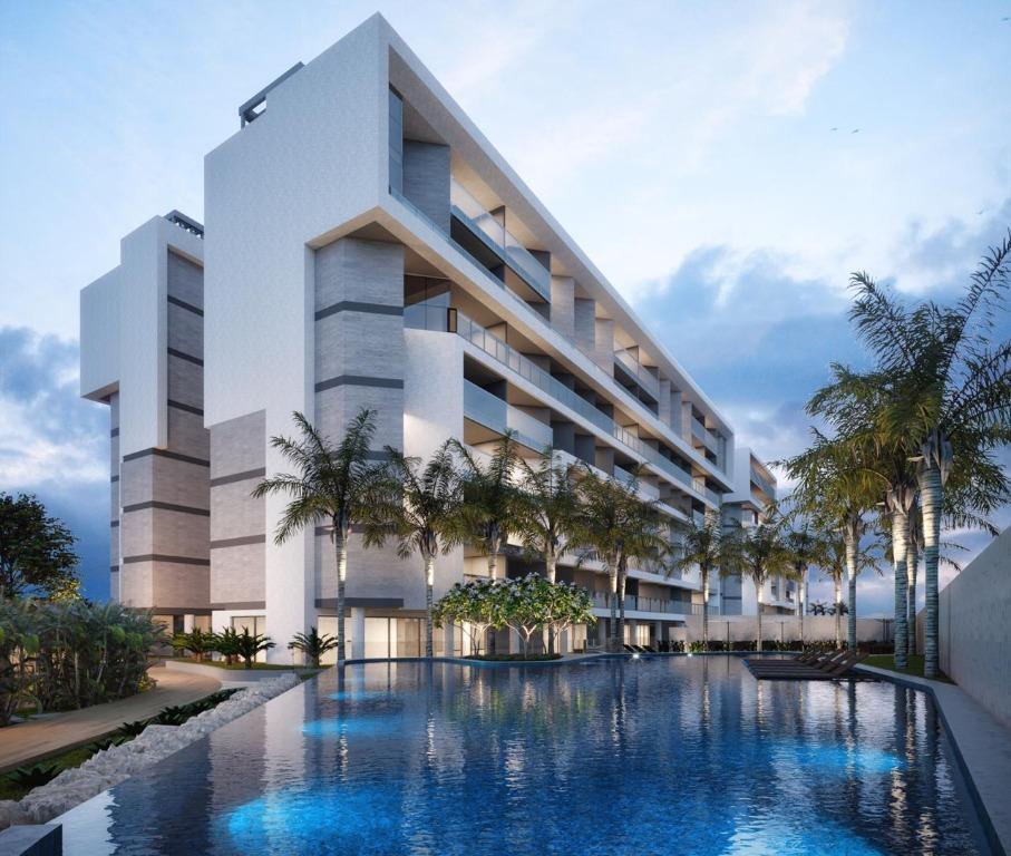 Apartamento com 3 dormitórios à venda, 86 m² por R$ 672.804 - Intermares - Cabedelo/PB