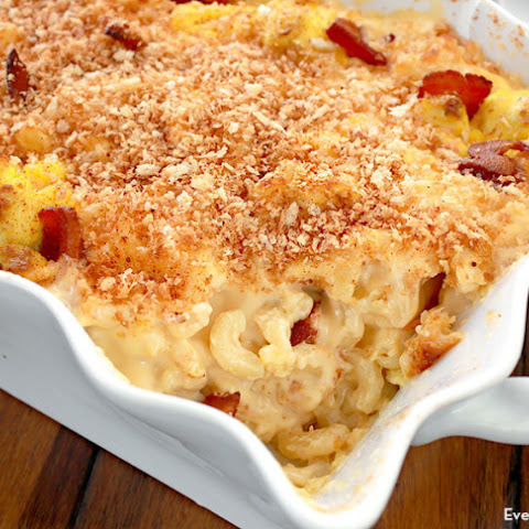 Bacon and Egg Mac and Cheese