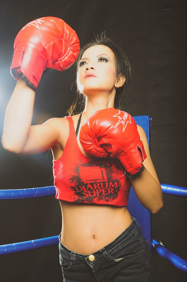 sexy boxer by Willyam Talim - Sports & Fitness Boxing ( #sexy, #girl, #boxing )