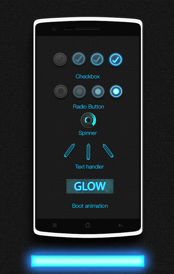 Glow CM13 CM12/12.1 Theme Screenshot 13