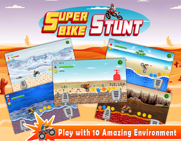 android Super Bike Stunt Screenshot 0