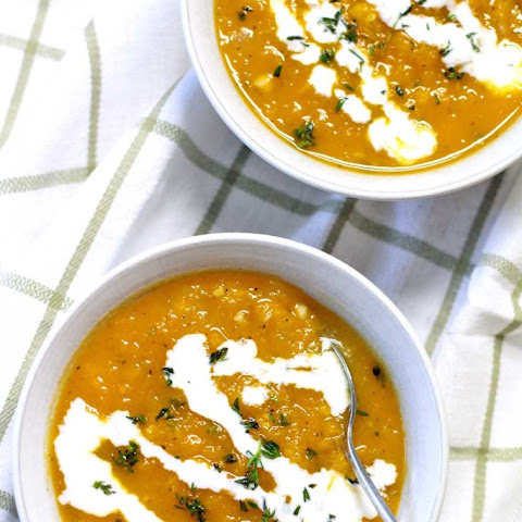 Butternut Squash and Thyme Soup