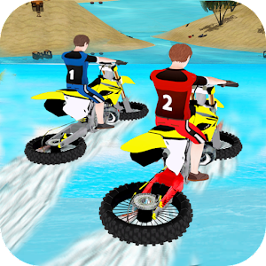 Water Surfing Bike Race For PC (Windows & MAC)