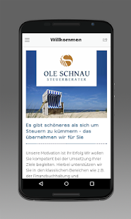 Steuerberater Ole Schnau - screenshot