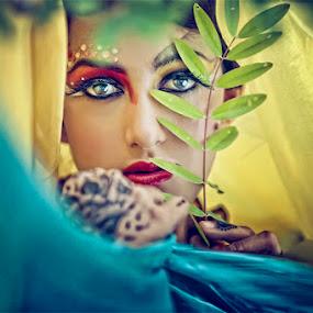 Extraordinary Girl by Ruslan Agule - People Fine Art