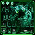 Free Neon Tiger Keyboard Theme APK for Windows 8