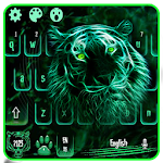 Neon Tiger Keyboard Theme Icon