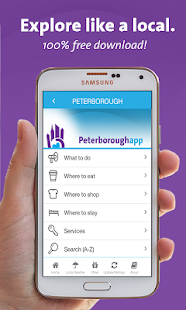 Peterborough App - Ontario - screenshot