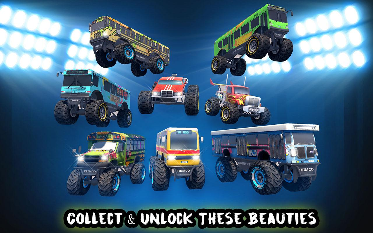 Crazy Monster Bus Stunt Race Screenshot 2