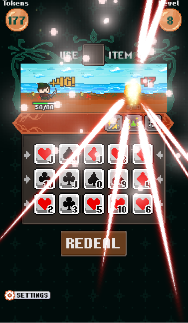 Pixel Poker Battle Screenshot 5
