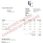 Data Protection Xero Invoice - Hacked