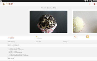 Screenshot of PetitChef, cooking and recipes
