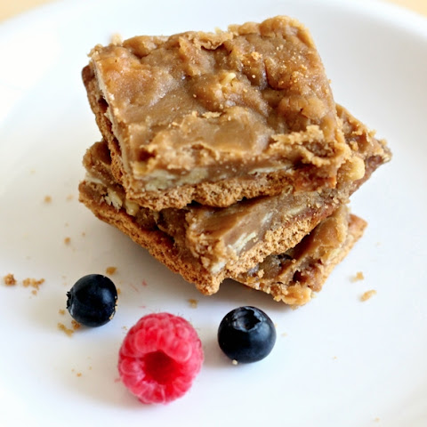 20 Minute Butter Toffee Almond Thin Bars