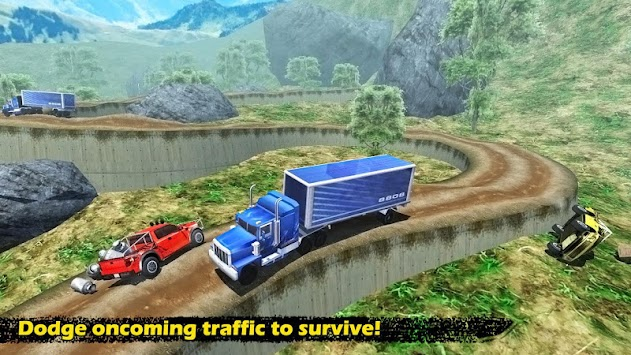 Off - Road Pickup Truck Simulator apk screenshot