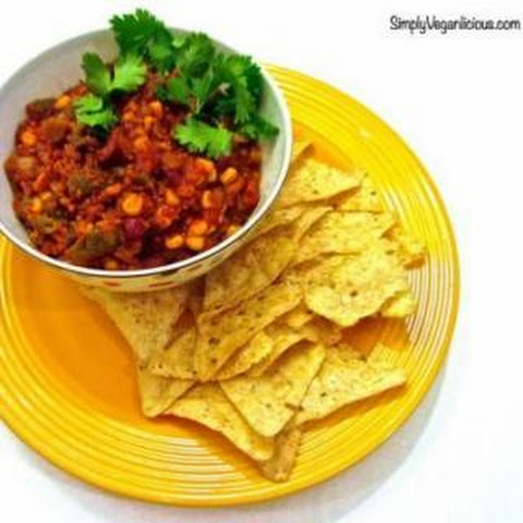 Slow Cooker Vegan Chili