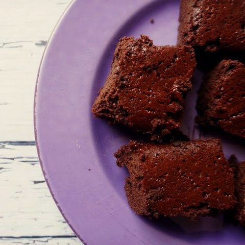 Flourless Coconut Oil Brownies