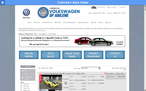 Custred's Auto Sales - screenshot