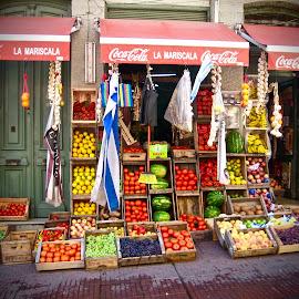 Montevideo Street Market by Michael Villecco - City,  Street & Park  Markets & Shops (  )
